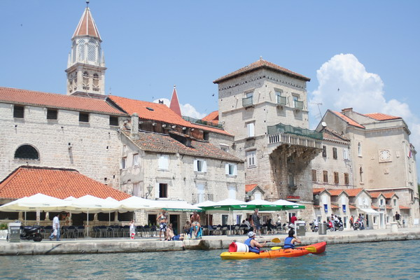 Sea kayaking Trogir
